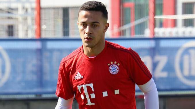 FC Bayern: Thiago sieht seine Zukunft in München